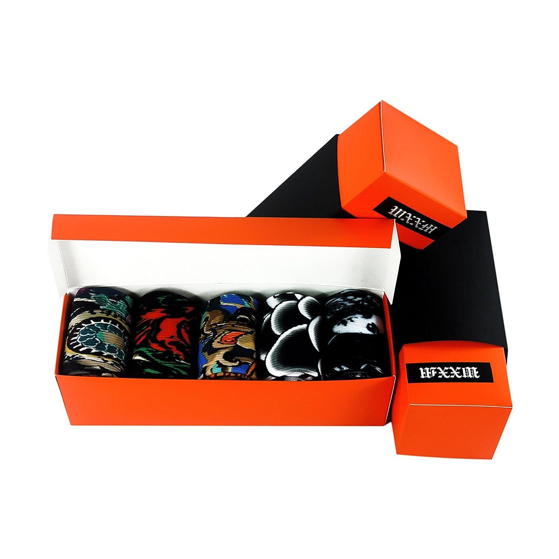WXXM SOCKSHOSIERY メンズ B0749K38WW 000/5 Pairs-gift Box a 000/5 Pairs-gift Box a