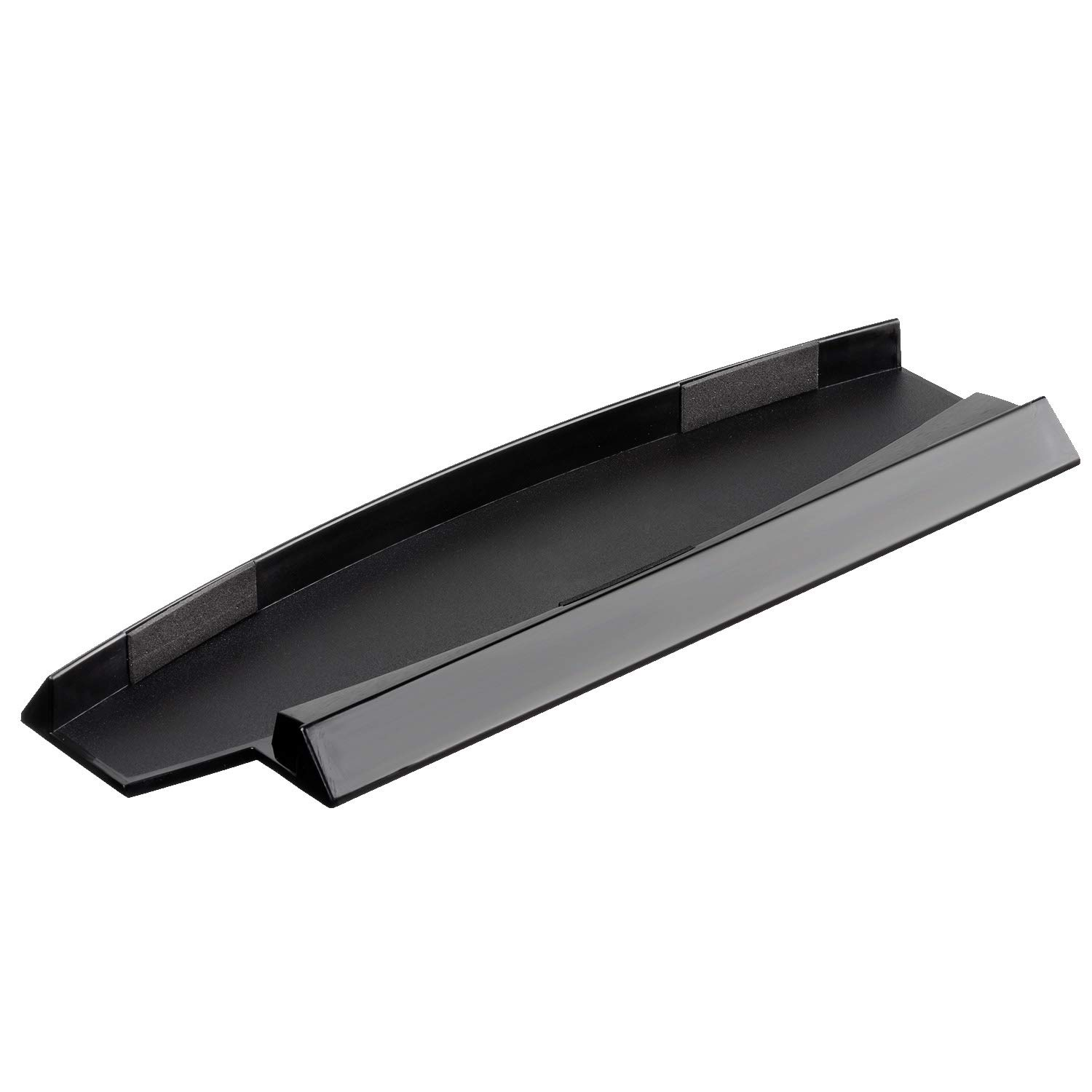 OSTENT Skid Proof Console Vertical Stand Compatible for Sony PS3 Slim Console Color Black by OSTENT
