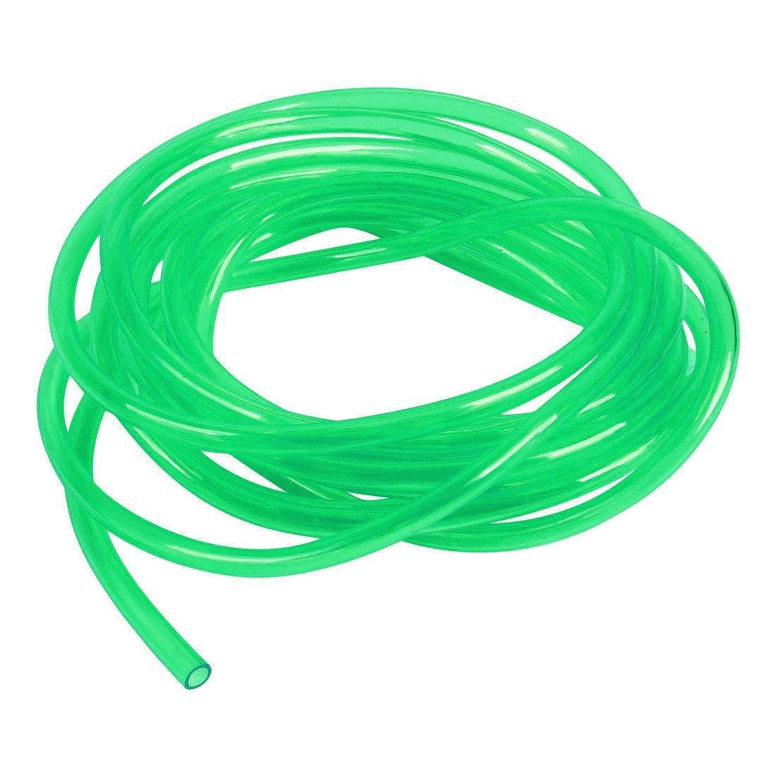 Tubo trasparente verde acrilico 16mm x 2mt cavo flessibile for Laghetto acqua verde