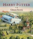 capa de Harry Potter e a Câmara Secreta - Ilustrado