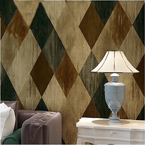 HaokHome Vintage Textured Wallpaper Decoration product image