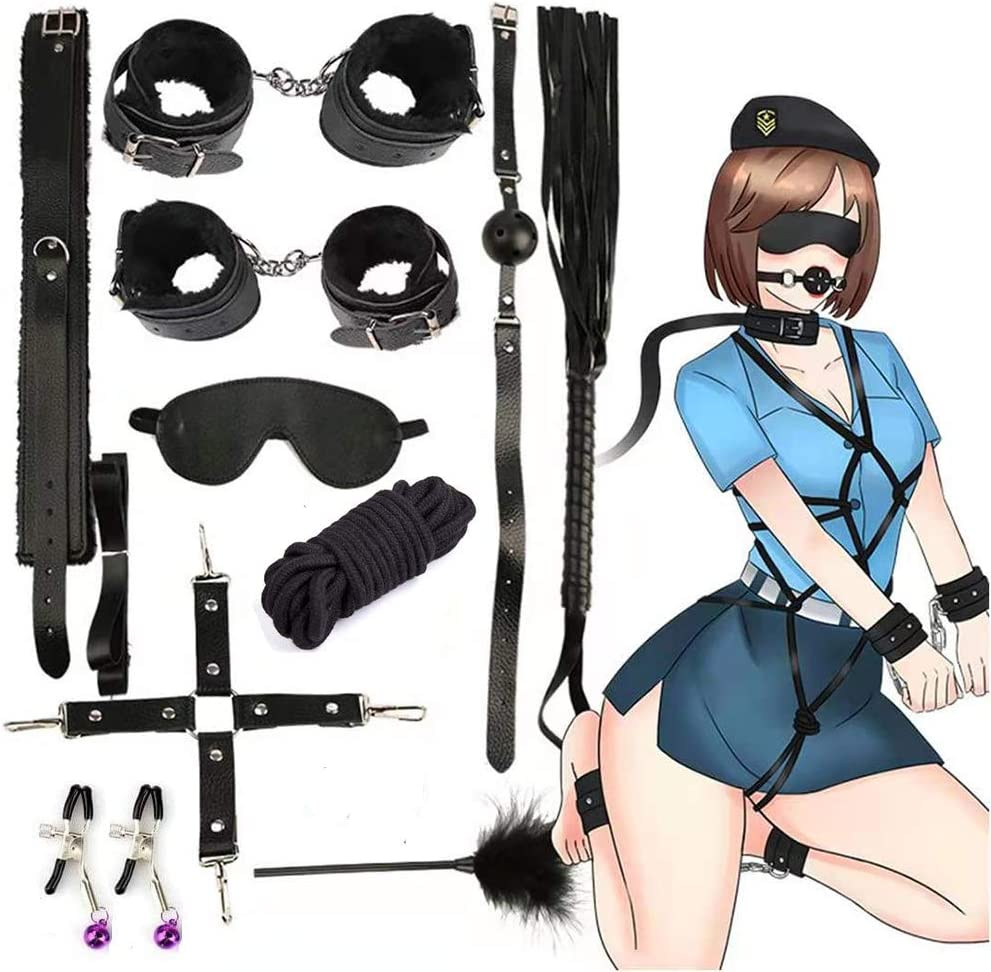 Hozzi Black Bundle Adjustable Leather Sport Accessories 10 Kit