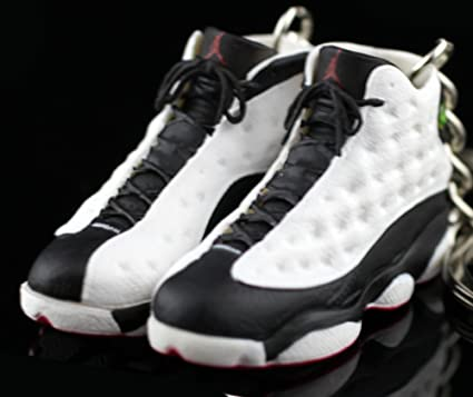 e0e89494503211 ... usa air jordan xiii 13 retro he got game white black red panda og  sneakers shoes