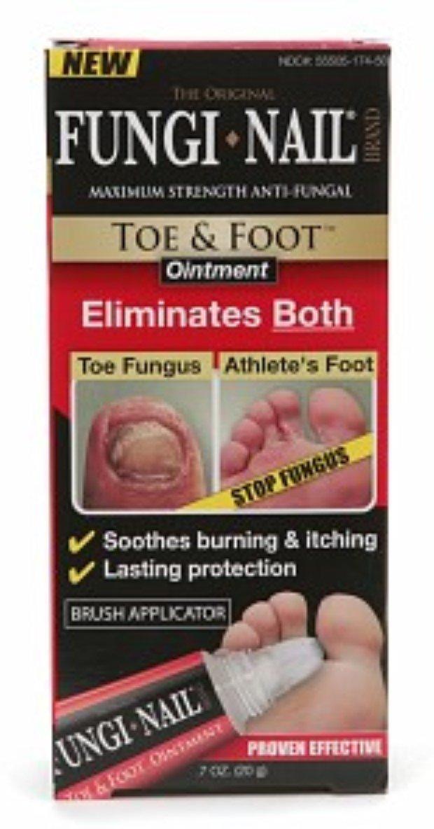 Amazon.com : Fungi-Nail Toe & Foot Ointment 0.70 oz (Pack of 12 ...
