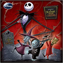NIGHTMARE BEFORE CHRISTMAS 2010 Wall Calendar: Trends ...