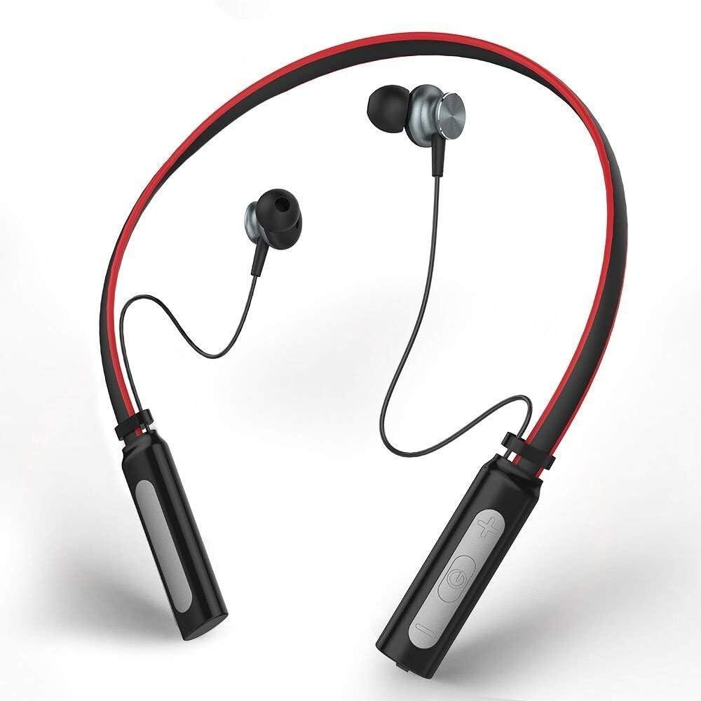 Auriculares Inalámbricos Bluetooth 4.1,Yinsili Auriculares Deportivos Bluetooth con micrófono y manos libres para iPhone, iPad, iPod, Android, Samsung Galaxy y otros dispositivos compatibles (L9-Rojo): Amazon.es: Electrónica