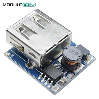 DC-DC 0,9V-5V zu 5V USB Spannungsumwandler Step Up-Boost-Module Aihasd Mikro USB 5V 1A 18650 Lithium Batterie Ladeger/ät Schutz Modul
