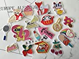 korean ice cream food - Korean boutique custom embroidery brooch fox animal and plant food Dharma Ly Cat cherry strawberry ice cream pony pin