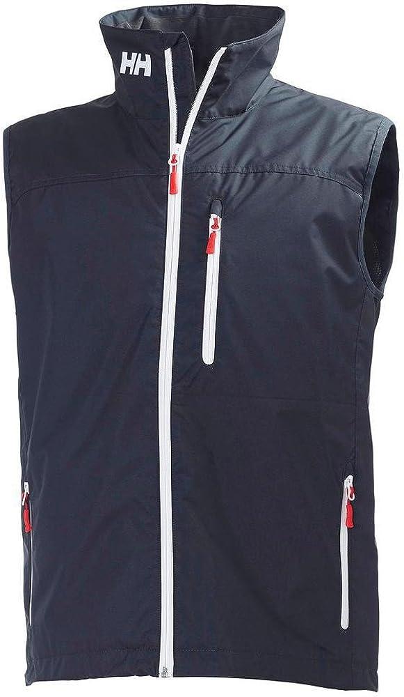 Impermeabile Helly Hansen Crew Vest Smanicato Termico per Ogni Stagione Traspirante Antivento Design Sportivo e Casual Ottima per Nautica e Uso Quotidiano Uomo