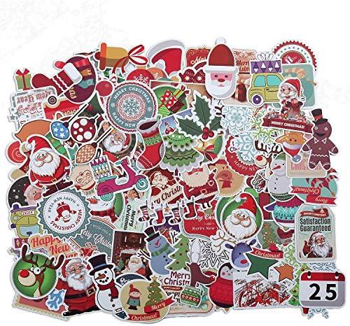 100 pegatinas de vinilo de graffiti, impermeables, para coche, motocicleta, bicicleta, equipaje, monopatín, parches adhesivos, no repetir al azar, pack de pegatinas para Navidad: Amazon.es: Juguetes y juegos