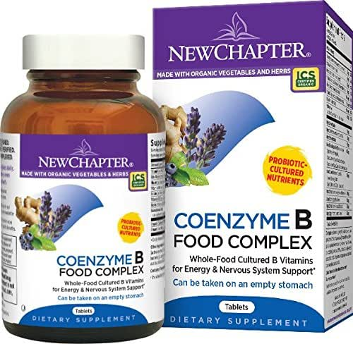 New Chapter Coenzyme B Food Complex - 90 ct
