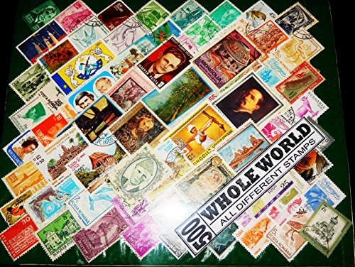 500 Pieces All Different World Wide CTO Mint Cancelled Superb Postage Stamps Rare Pack from 40+ Countries