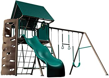 Lifetime A-Frame Adventure Outdoor Playset