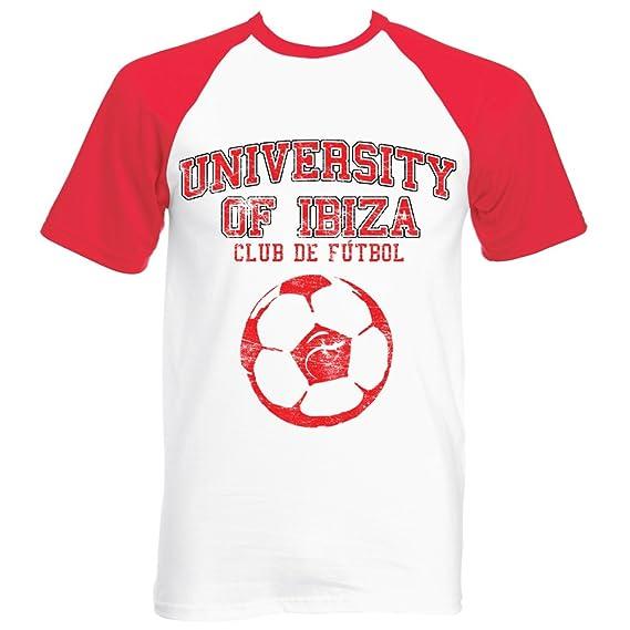 2587b0cc1c614 University of Ibiza  Football T-shirt Homme  Amazon.fr  Vêtements et ...