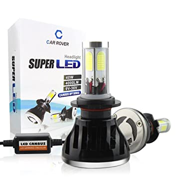 Car Rover® H7 Faro Bombillas Canbus Alquiler de luces LED 80W brillante estupendo de la
