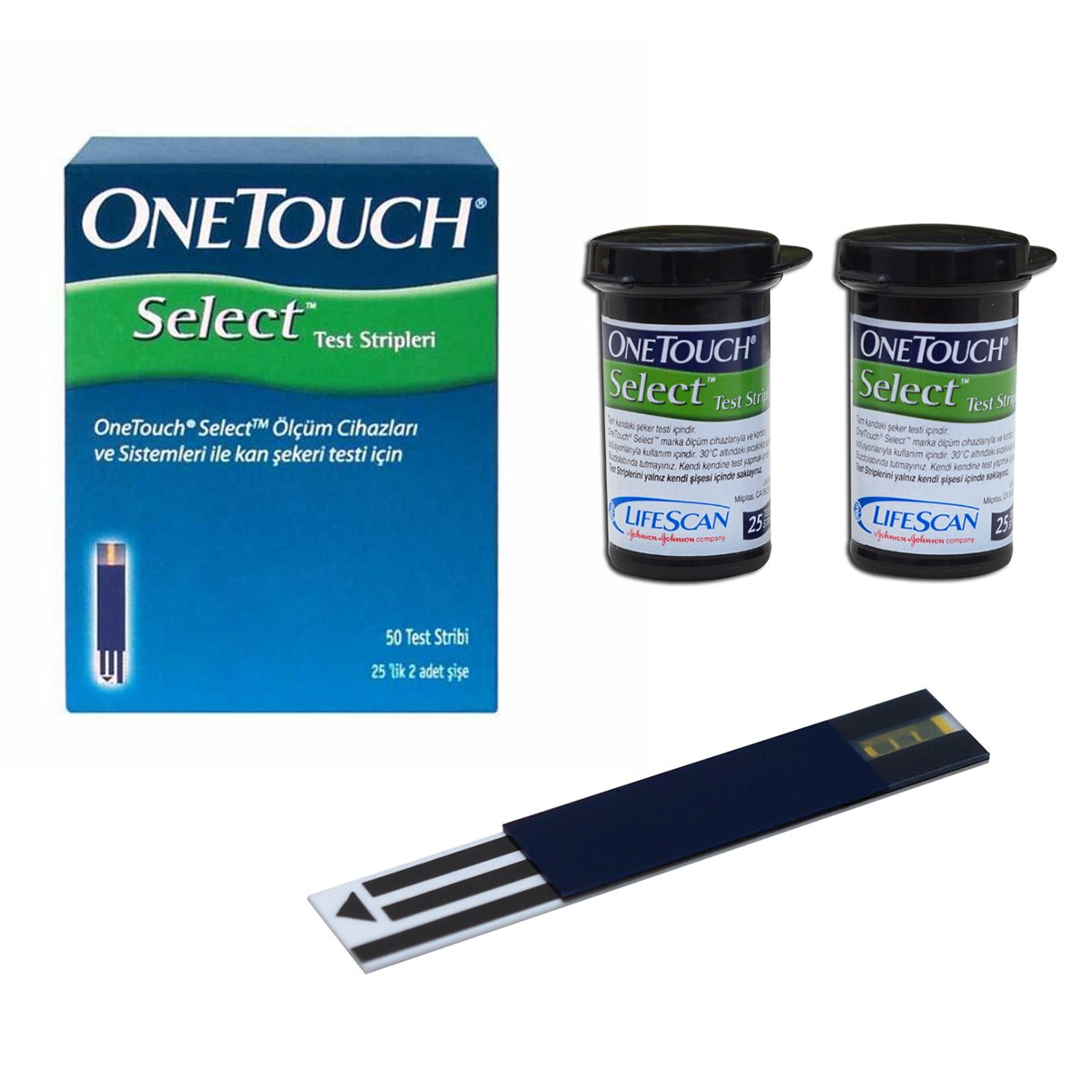 OneTouch Select Test Strips 50 Ct. by Pretrada