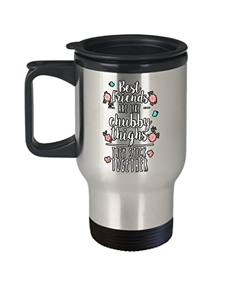 Chubby travel coffee mug