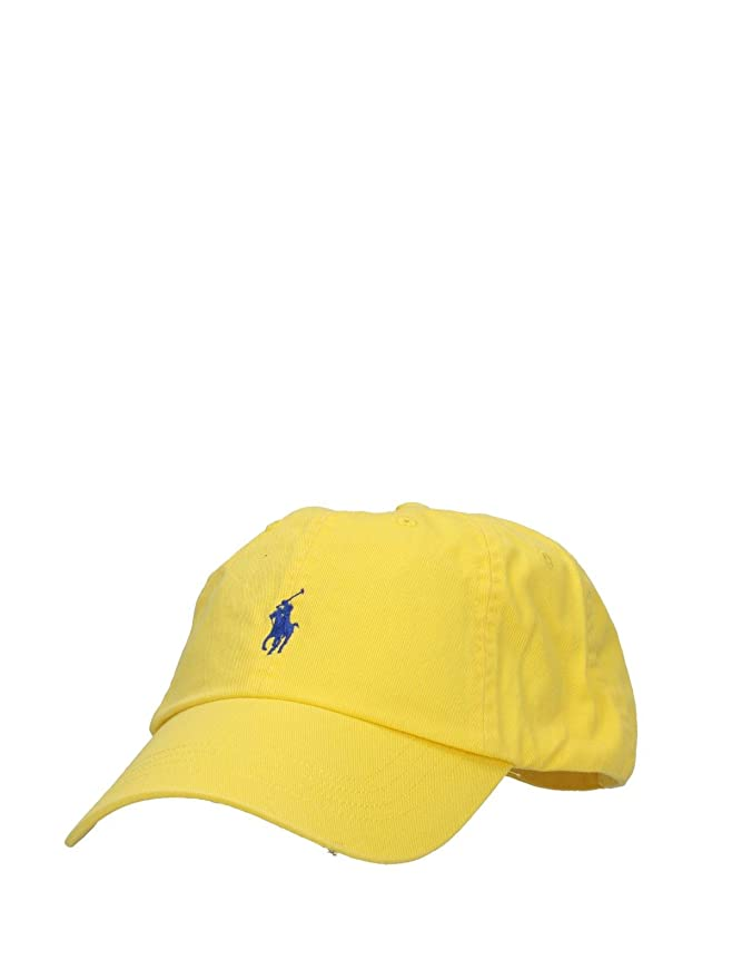 Ralph Lauren - Polo Sprint - Gorra - Hampton Yellow: Amazon.es ...