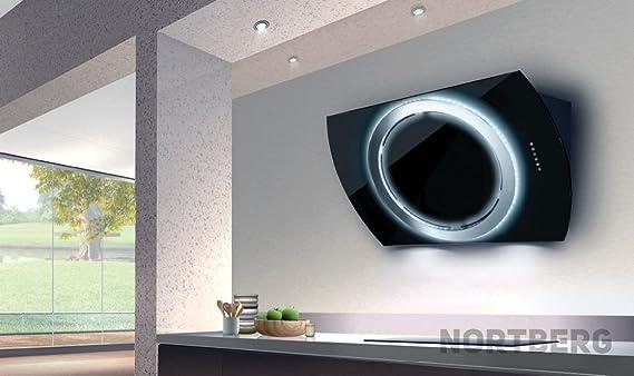 Nortberg royal dunstabzugshaube wandhaube cm schwarz amazon