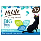 HiLife It's Only Natural Cat Food The Big Tuna One, 32 x 70g Pouches