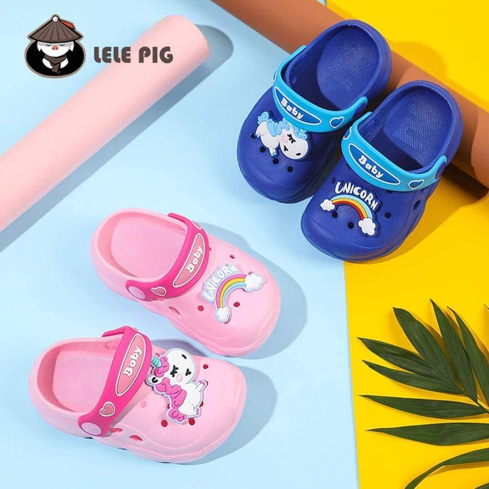 Children Kids Surf Clogs Beach Sandals Mules Garden Shoes Anti-Slip Pool Slippers Summer Girls and Boys