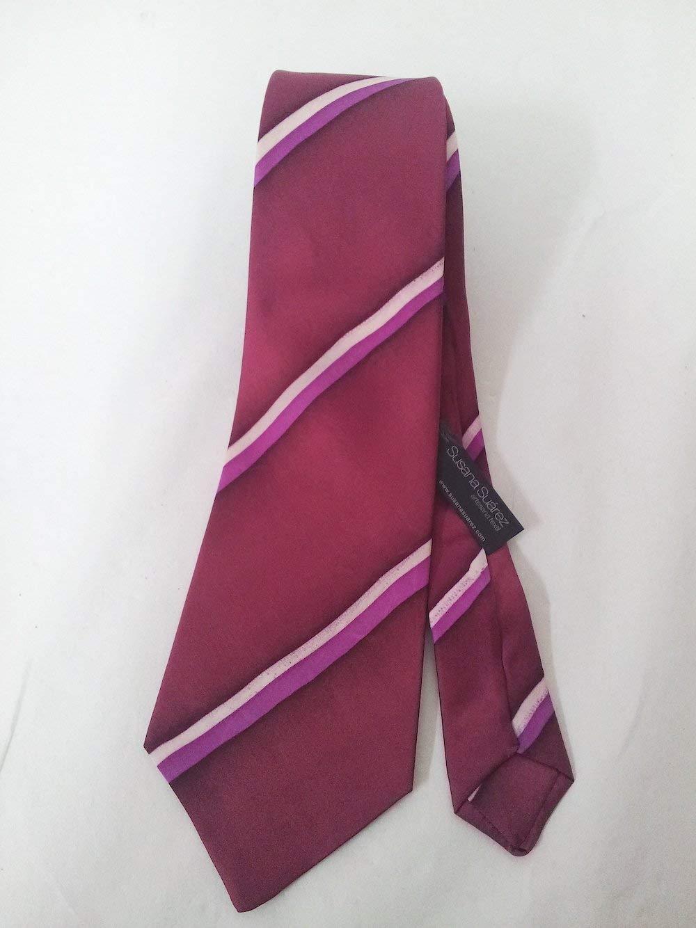 Corbata de seda- Corbata de rayas- Corbata pintada a mano- Corbata ...