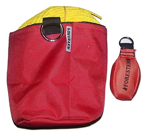 Forester 150 Foot Arborist 11 Ounce Throw Line Kit Red Storage Bag (Throw Line)