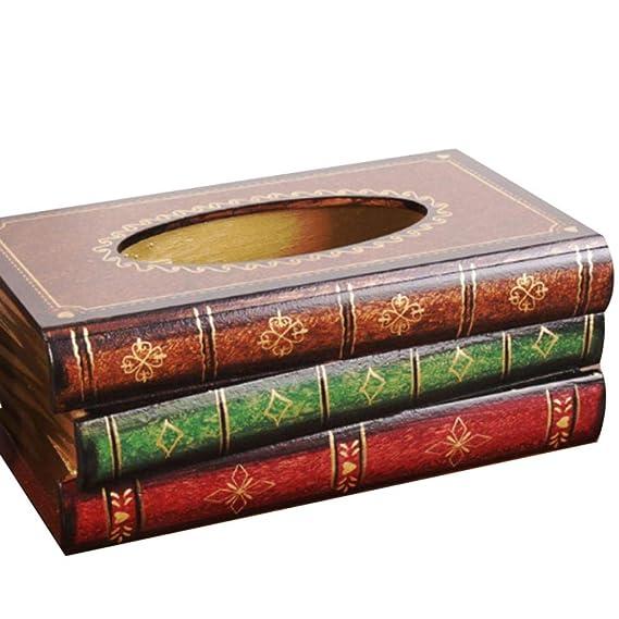 PU Kleenex Caja de pañuelos, diseño dispensador de pañuelos de bolsillo) Trébol NEX Box, Tissue Box Caja para pañuelos de dispensador de pañuelos de caja de ...