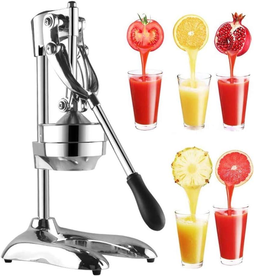 Stainless Steel Manual Hand Press Juicer Squeezer Citrus Lemon Orange Pomegranate Fruit Juice Extractor HZ-1