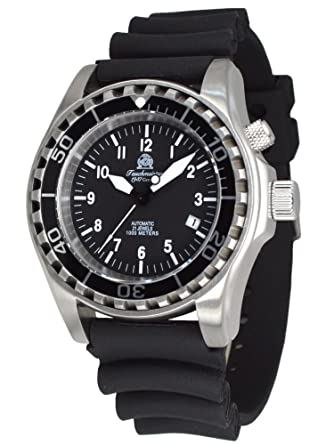 Tauchmeister automatic diver watch sapphire glass T0287