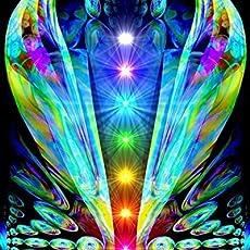 Amazon com: Yellow Chakra, Angel Wall Decor, Reiki Healing