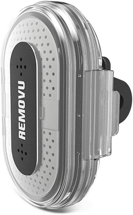 Color Negro Removu A1+M1 Sistema de micr/ófono Externo inal/ámbrico para c/ámara GoPro