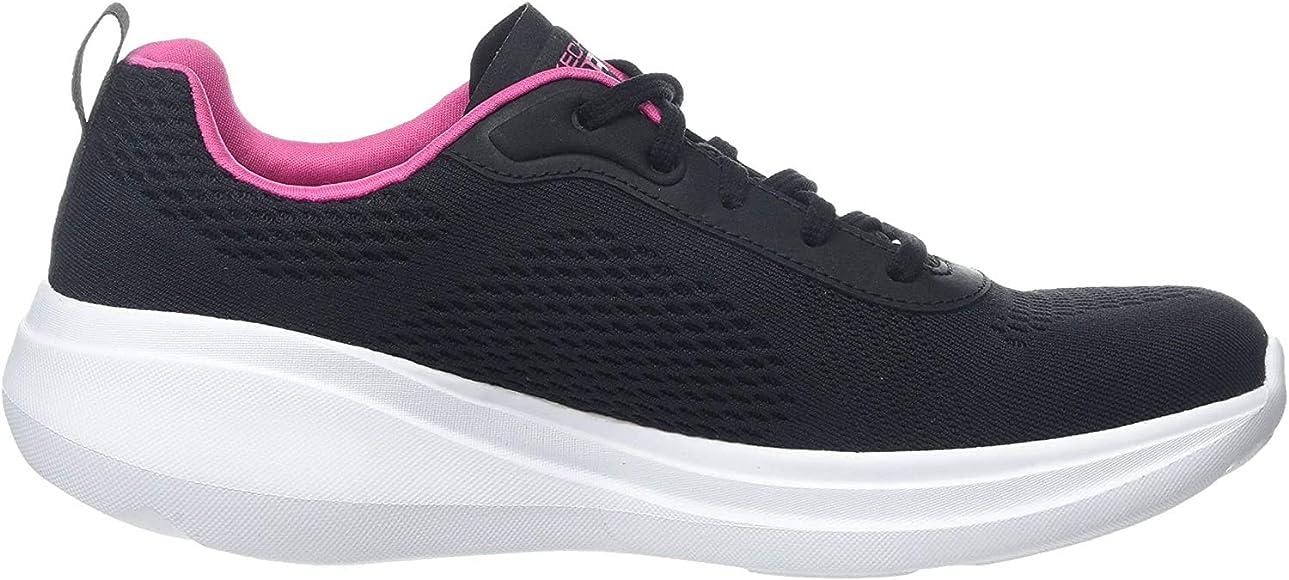 Skechers Go Run Fast-glide Zapatillas Mujer, Negro (Black Textile ...