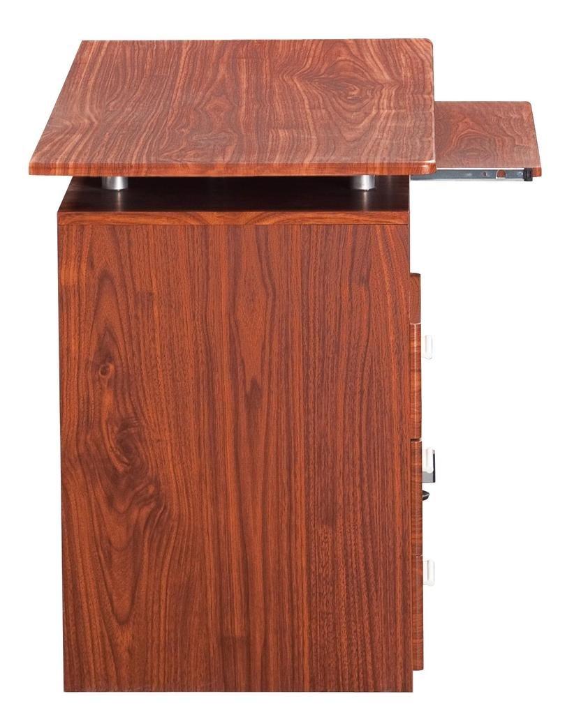 Superieur Amazon.com: Techni Mobili Computer Desk With Storage, Mahogany: Home U0026  Kitchen