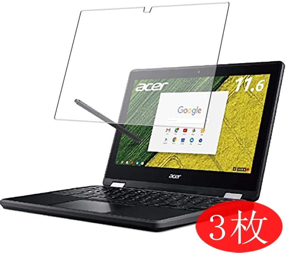 """【3 Pack】 Synvy Screen Protector for Acer Chromebook Spin 11 R751TN-N14N 2017 11.6"""" TPU Flexible HD Clear Case-Friendly Film Protective Protectors [Not Tempered Glass] New Version"""
