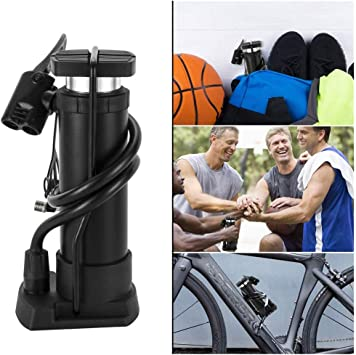Bike Bicycle Mini Air Pump Hand Pump Tire Inflator Aluminum Alloy Portable Tool