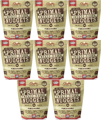 Primal-Freeze-Dried-Nuggets-Venison-Formula-for-Cats-44oz-8-x-55oz