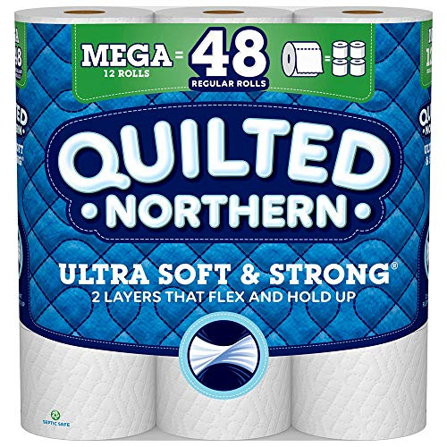 Quilted Northern Ultra Soft & Strong Toilet Paper, 12 Count (Toilet Paper Northern)