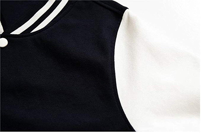 EengFang Unisex Youth Nobody Knows Im Gay Comfort Baseball Uniform Sport Coat Black