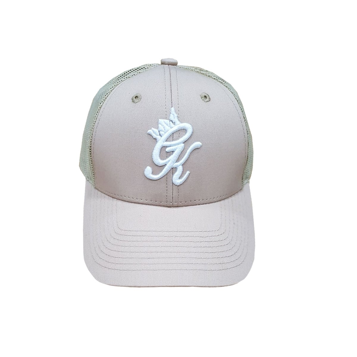 459082613eabd Gym King Men Cap - Strapback P Cap Unisex Sports Cap Original Signature GK  (Beige