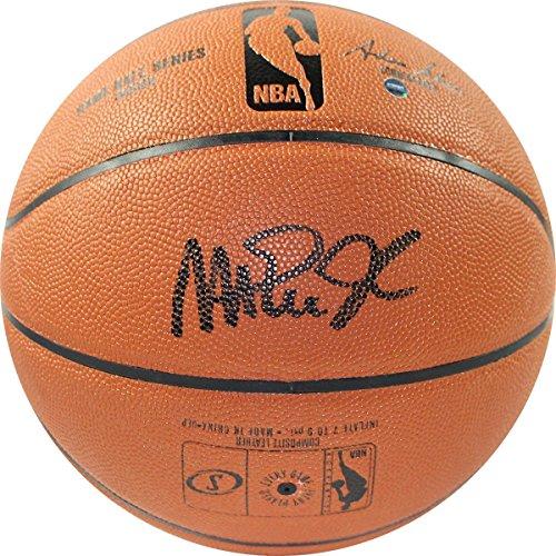 Magic Johnson Los Angeles Lakers Signed Autograph Black NBA Game Basketball Steiner Sports - Magic Johnson Nba