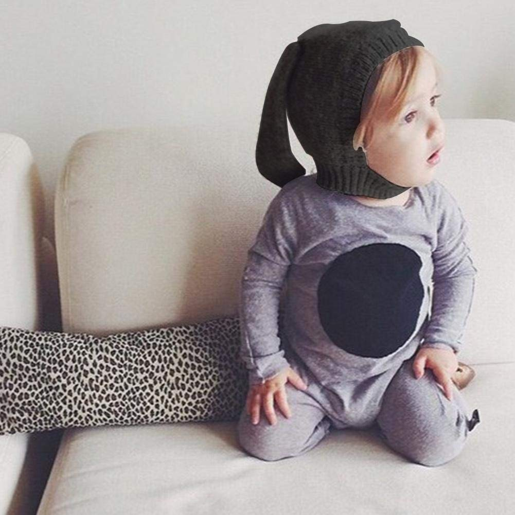 Berretto Invernale Lavorato a Maglia,Cappello da Bambino Cappello a Forma di Animale Innovativo con Orecchie da Coniglio