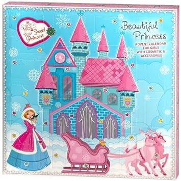 Beautiful Princess Kids Advent Calendar For Girls Amazon Co Uk Beauty