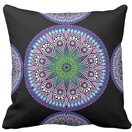 Vintage Home Decor Cushion Cover Throw Pillow Case For Sofa Decorative Twin Sides