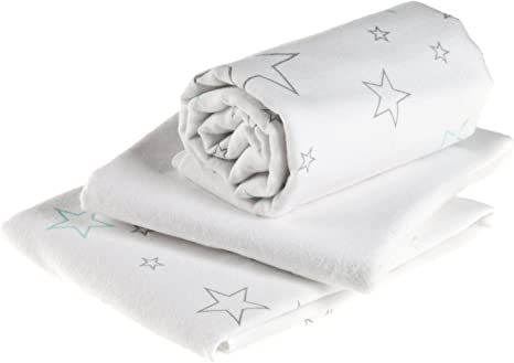 Muselina franela bebé | Paño algodón absorbente - 3 Ud., 70x70 cm ...