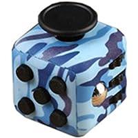 Elibeauty Fidget Cube Toy, Anti-Angst Speelgoed Kinderbureau Volwassen Stress Relief Cube Anti-Angst En Anti-Stress…