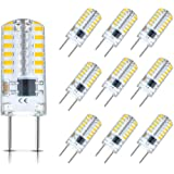 G8 LED Bulb Dimmable 3W T4 G8 Bulb Equivalent to G8 Halogen Bulb 20W-25W, Mini G8 Light Bulb Warm White 3000K, Bi-Pin G8…