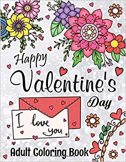 Love, Romantic Zentangle Heart, Valentine's Day Printable Coloring ... | 335x260