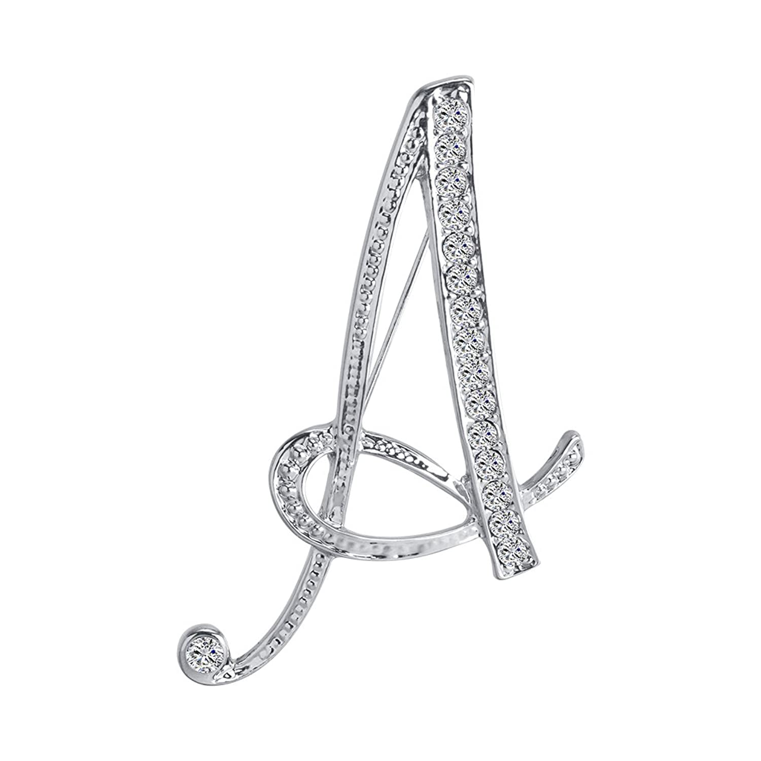 Completely new Amazon.com: Monogram Alphabet Letters Lapel Pin Badge (Letter A  TK75