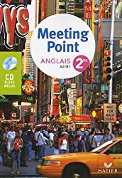 Meeting Point anglais 2de : A2/B1 (1CD audio)